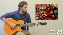 Mashup de Musiques de Jeux Vidéos à la guitare - Mario, Halo, Pokémon,...