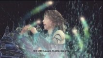Final Fantasy X-2 HD Remaster (English subs part 077) Yuna   Lenne sing  1000 words