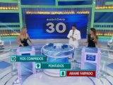 Flávia Viana no Programa Silvio Santos - Jogo das 3 Pistas