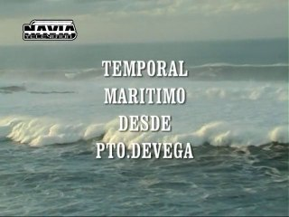 TEMPORAL MARITIMO EN PTO. DE VEGA