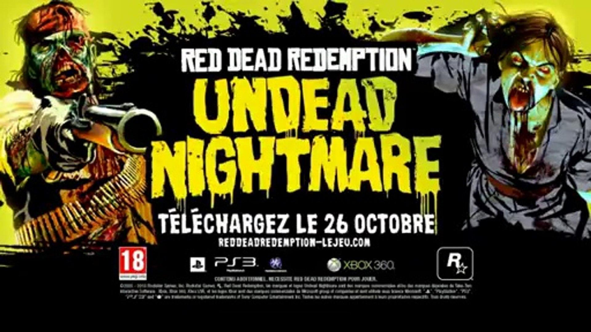 Red Dead Redemption Undead Nightmare Trailer Fr Video