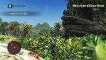 Assassin's Creed IV : Black Flag - Comparatif Next-gen / Current-gen