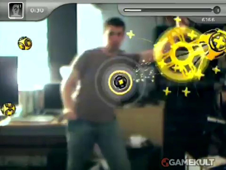 EyeToy : Kinetic - Cours de boule à boule