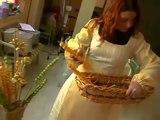Sul set di Melissa 09 - Prime prove costumi di scena