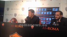 Conferenza stampa Garcia pre Roma-Sampdoria