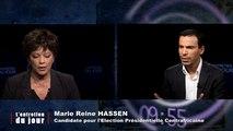 Entretien du jour du 06 01 14 MARIE REINE HASSEN, Candidate à l'élection présidentielle centrafricaine et ancienne ministre déléguée en Centrafrique