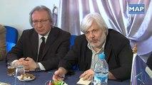 الامين العام لحزب التقدم والاشتراكية يتباحث مع وفد عن الحزب الشيوعي الايطالي