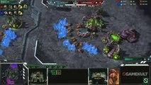 StarCraft II : Wings of Liberty - MLG Anaheim - Violet vs Leenock - Match 1