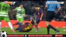 Barcelona VS Getafe 4-0 All goals and 2 goals for messi  08/01/2014