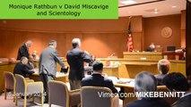 anti-SLAPP Hearing Monique Rathbun v Miscavige and Scientology 8 jan 2014