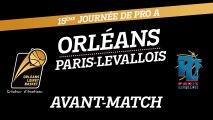 Avant-Match - J15 - Orléans reçoit Paris-Levallois