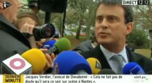 Dieudonné : Valls interpellé par un homme à Rennes