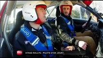 Reportage : au coeur d'un stage de pilotage rallye (Emission Turbo du 08/12/2013)