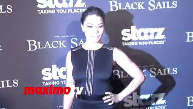 Jessica Parker Kennedy BLACK SAILS Premiere Screening
