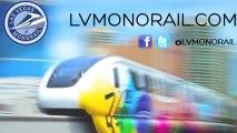 Las Vegas Monorail Coverage of CES 2014 | Las Vegas Transportation pt. 6