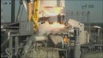 La capsule d'Orbital Sciences partie pour sa mission vers l'ISS