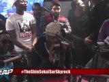 """Exclu Skyrock : Black M présente son nouveau son """"Spectateur"""" en live dans Planète Rap."""