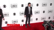 Ian Somerhalder PCA 2014 Red Carpet