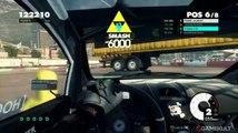 DiRT 3 - Gymkhana au G25 vue cockpit, c'est possible