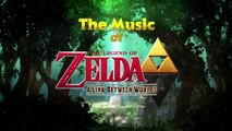 The Legend of Zelda : A Link Between Worlds - Music Trailer