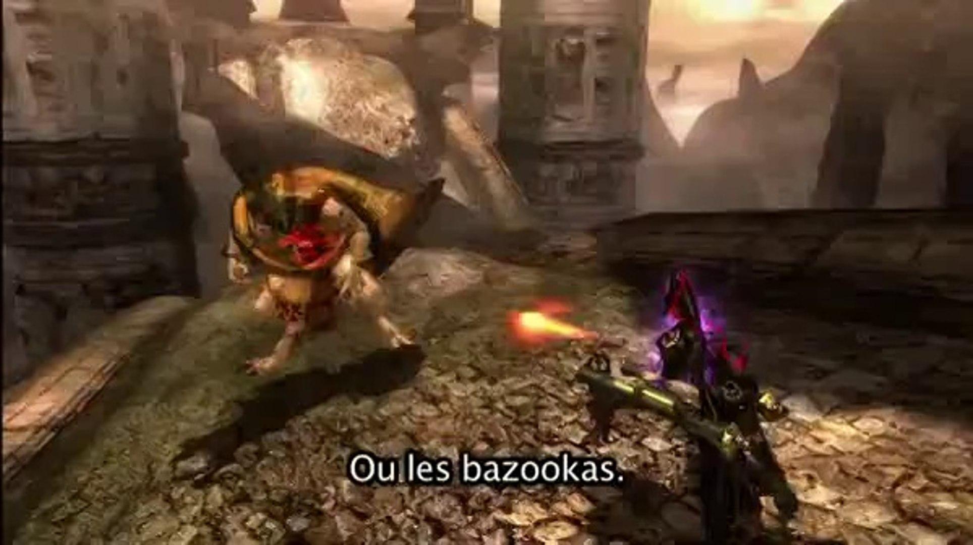 Bayonetta - Armes et combos