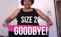 Woman Loses Weight Over 100 Days Time Lapse!!