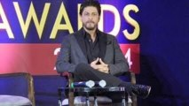 Shahrukh Khan @ Zee Cine Awards 2014 Announcement Press Meet !