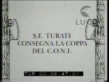 Roma: L'incontro di calcio fra Roma e Triestina allo stadio del Partito Fascista.
