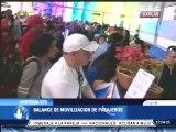 Más de 940 mil pasajeros se movilizaron por el aeropuerto de Maiquetía en diciembre 2013