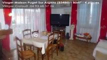 A vendre en viager - Puget Sur Argens (83480) - 4 pièces - 80m²