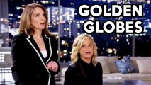 Tina Fey and Amy Poehler TOP 5 Golden Globes 2014 Moments
