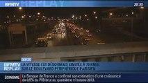 BFMTV Replay: Boulevard périphérique de Paris: l'impact de la vitesse limitée à 70 km/h - 10/01