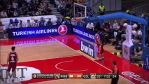 Assist of the night: Sergio Rodriguez, Real Madrid.
