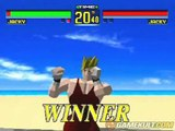 Virtua Fighter - Jacky les marrons chauds
