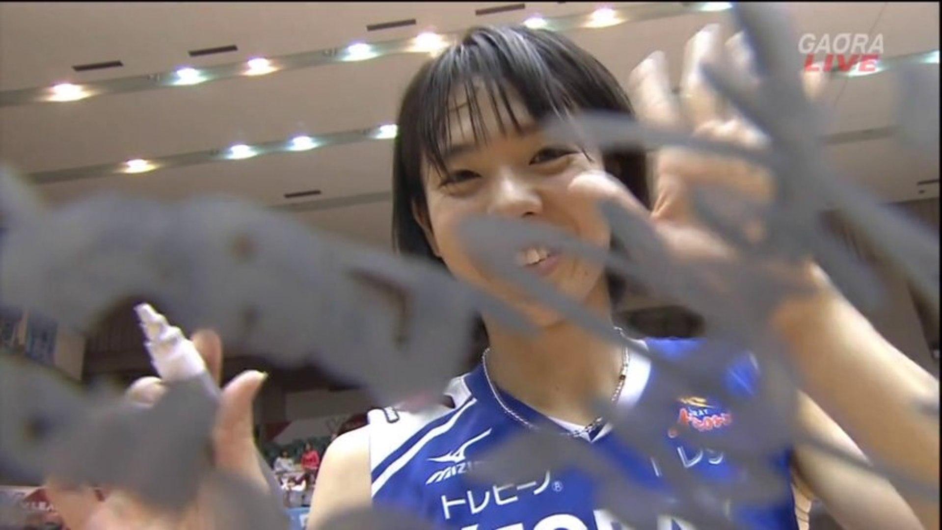 迫田さおりPV28 【2013/14Vプレミアリーグ開幕】悠久の翼