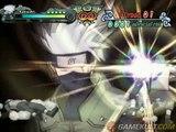 Naruto : Clash of Ninja Revolution 2 European Version - Kakashi à 15 contre 1