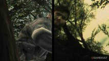 Metal Gear Solid HD Collection - Comparatif MGS 3 : PS Vita vs 3DS
