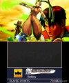 Super Street Fighter IV 3D Edition - Menus et options