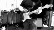 Davey T Hamilton - Clip From Band Rehearsal at Hermitage Lanes - Southern Girls