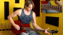 Learn How To Play Bass - Beginner Bass Lesson 8 - Bass Octave Slides