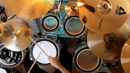 Learn How To Play Drums - Free Drum Lesson 13 - Combining Techniques From 1-12