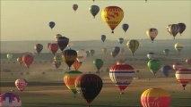 "Record du monde d'envol de montgolfières,Lorraine ""Mondial Air Ballons 2013"" Piano ""Fantasy"" Patrick Stafford"