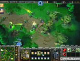 Warcraft III : The Frozen Throne - Attaque d'une base elfe