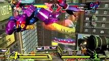 Ultimate Marvel vs. Capcom 3 - Strider gameplay