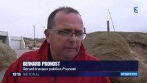 Vents violents et fortes vagues dans le Finistère