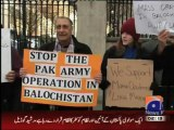 Progressive Pakistani activists support demands of Baloch marching for the 'missing' persons