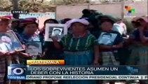 Guatemala: indígenas mayas honran memoria de víctimas de genocidio