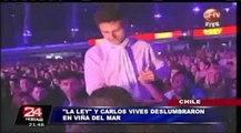 Viña del Mar: Carlos Vives y La Ley se lucieron en la Quinta Vergara