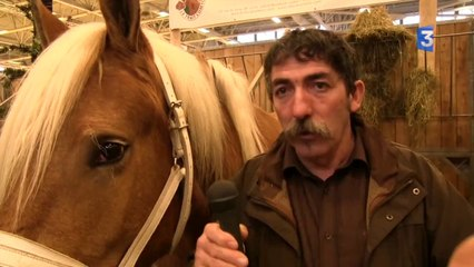 SIA 2014 : ITW Jean-Louis Cannelle - Traction animale