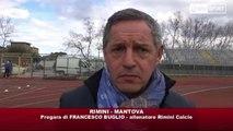 Icaro Sport. Rimini-Mantova, intervista a Francesco Buglio